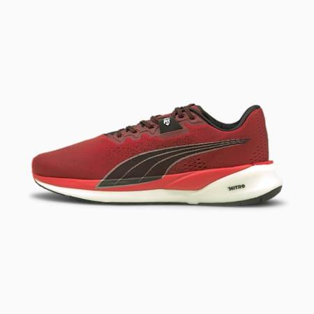 Eternity Nitro Men's Running Shoes, Intense Red-Puma Black-Puma Silver, small-SEA