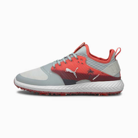 Chaussures de golf IGNITE PWRADAPT Caged Palms homme, High Rise-Peach-Zinfandel, small