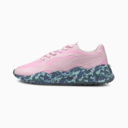 ゴルフ RS-G ウィメンズ パラダイス スパイクレス シューズ, Pink Lady-Navy Blazer, small-JPN