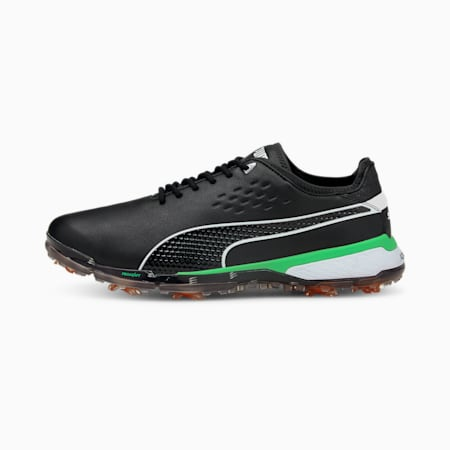 PROADAPT Δ X Men's Golf Shoes, Black-Irish Green, small-GBR
