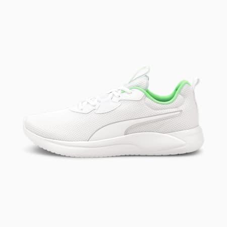 Resolve Men's Running Shoes, Puma White-Elektro Green, small-IND