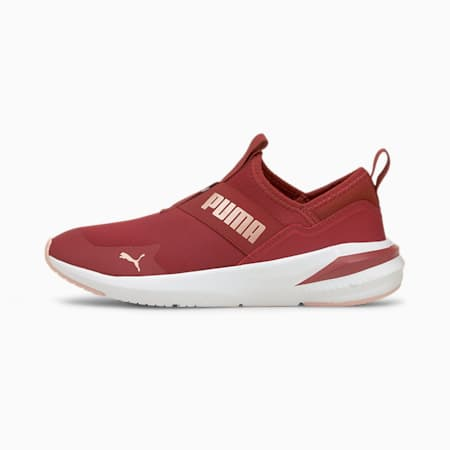 Platinum Alt Women's Training Shoes, Intense Red-Rose Gold, small-IND