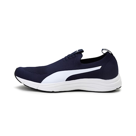 Lucifer Knit Men's IDP Slip On Shoes, Peacoat-Puma White, small-IND