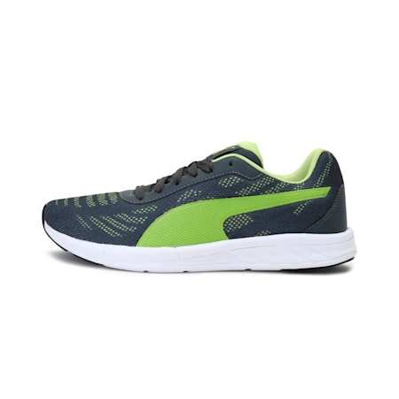 Meteor IDP Men's Shoes, Dark Shadow-Limepunch, small-IND