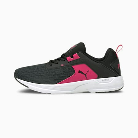 Baskets Comet 2 Alt enfant et adolescent, Puma Black-Beetroot Purple, small
