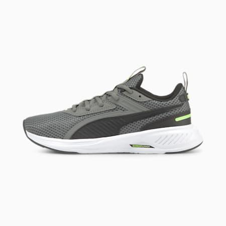 Zapatos deportivos Scorch Runner JR, Puma White-CASTLEROCK-Puma Black, pequeño