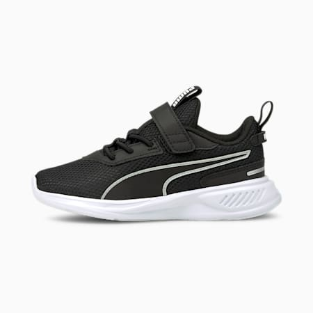 Scorch Runner Kid's Running Shoes, Puma Black-Puma White, small-IND