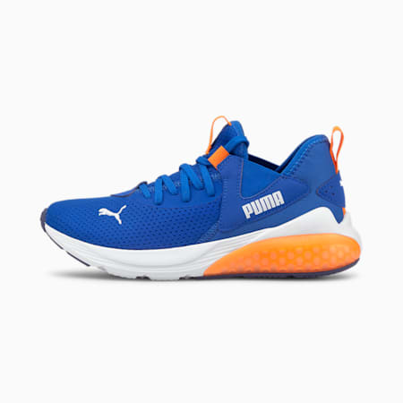 Cell Vive Kid's Running Shoes, Future Blue-Vibrant Orange, small-IND