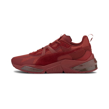PUMA x FIRST MILE LQDCELL Optic Mono Training Shoes JR, Red Dahlia-Metallic Silver, small