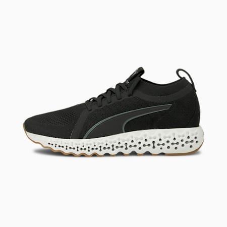 Calibrate Luxe Running Shoes, Puma Black-Puma White, small