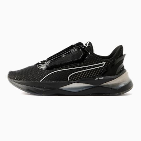 LQDCELL Shatter XT Metal Damen Trainingsschuhe, Puma Black-Metallic Gold, small