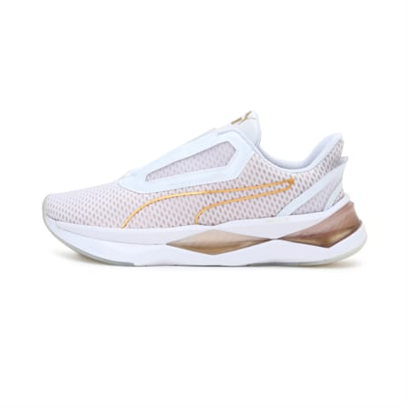 LQDCELL Shatter XT Metal Women's Training Shoes, Puma White-Rose Gold, small-IND
