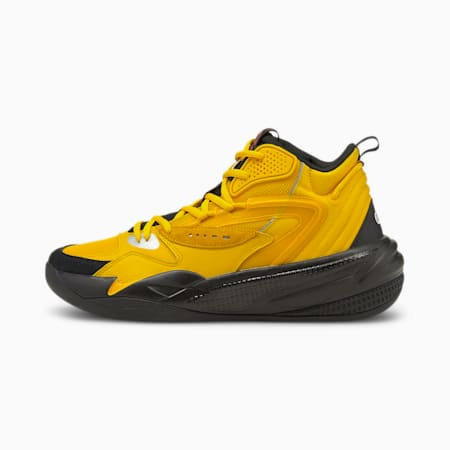 Dreamer 2 Mid Basketball Shoes, Spectra Yellow-Puma Black, small