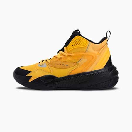 RS-Dreamer Mid 2 Basketball Shoes, Spectra Yellow-Puma Black, small-IND
