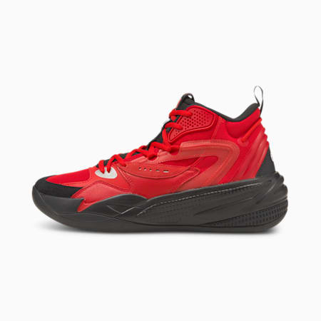 Dreamer 2 Mid Basketball Shoes, High Risk Red-Puma Black, small