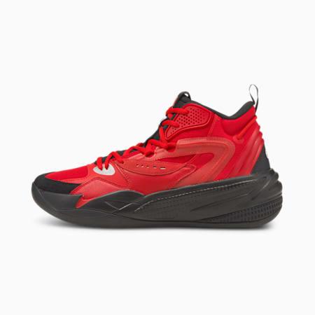Dreamer 2 Mid basketbalschoenen, High Risk Red-Puma Black, small