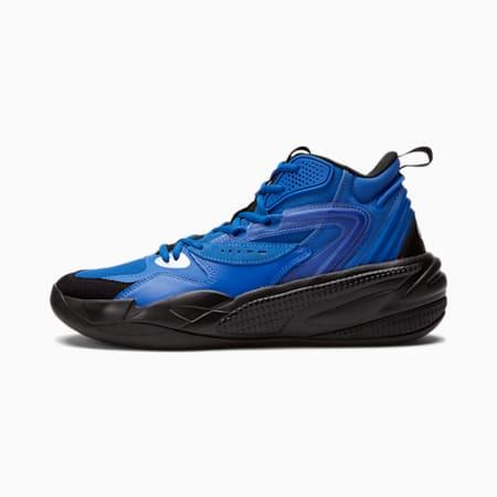 Dreamer 2 Mid Basketball Shoes, Puma Royal-Puma Black, small