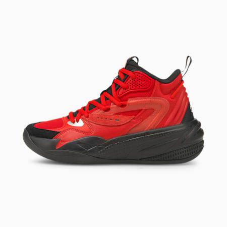 Chaussures de basket montantes Dreamer 2 enfant et adolescent, High Risk Red-Puma Black, small