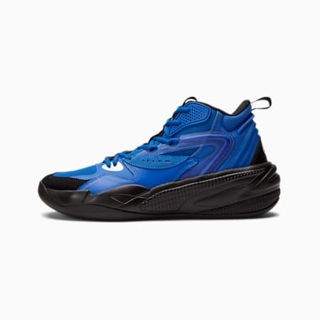 Dreamer 2 Mid Youth Basketball Shoes, Puma Royal-Puma Black, small-GBR