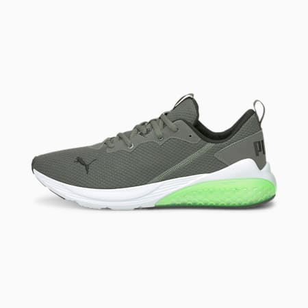 Cell Vive Clean Men's Running Shoes, CASTLEROCK-Green Glare, small-IND