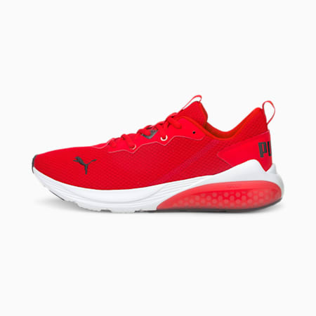 Cell Vive Clean Men's Running Shoes, High Risk Red-Puma White, small-IND