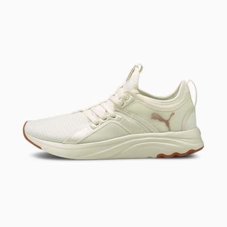 Zapatos para correrSoftRide Sophia Eco para mujer, Marshmallow-Rose Gold, pequeño