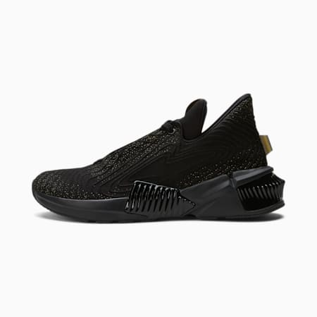 Zapatos deentrenamientoProvoke XT Futurepara mujer, Puma Black-Puma Team Gold, pequeño