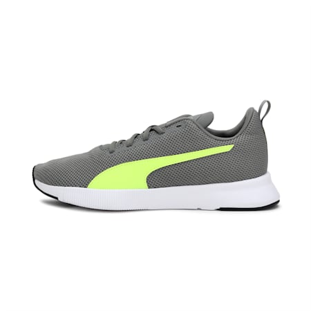 Robust Running Shoes, Ultra Gray-Yellow Alert, small-IND