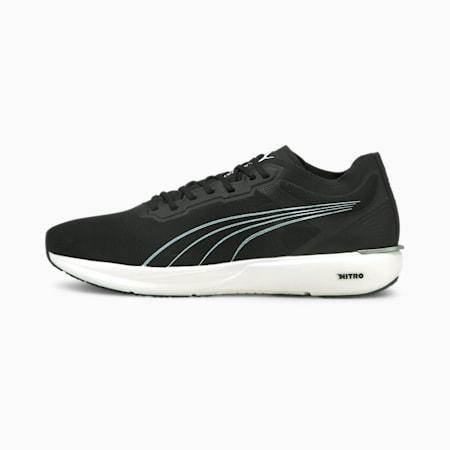 Liberate NITRO Men's Running Shoes, Black-White-Silver, small-SEA