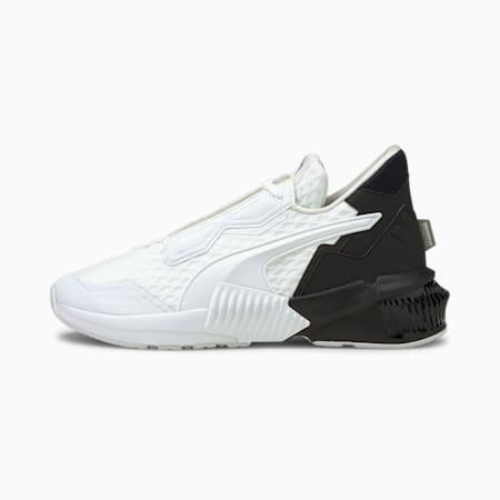Provoke XT Block Women's Training Shoes, Puma White-Puma Black, small-GBR