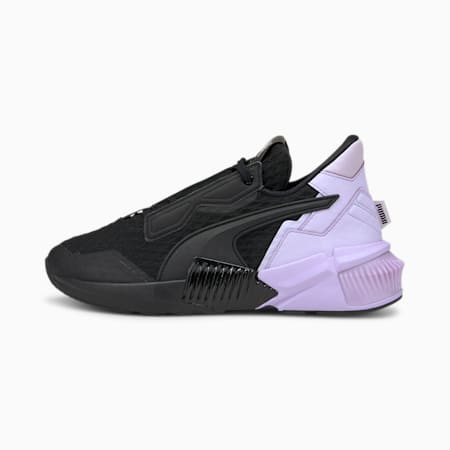 Provoke XT Block Women's Training Shoes, Puma Black-Light Lavender, small-IND