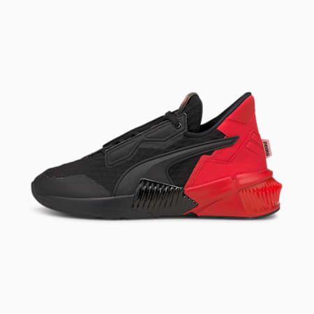 Chaussures d'entraînement Provoke XT Block, femme, Noir Puma-Rouge risque élevé, petit