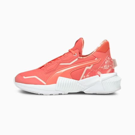 Provoke XT Untamed Floral Women's Training Shoes, Georgia Peach-Puma White, small-GBR