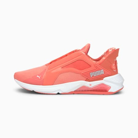 LQDCELL Method Untamed Floral Women's Training Shoes, Georgia Peach-Puma White, small-IND