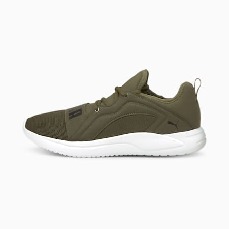 Resolve Street Men's Running Shoes, Grape Leaf-Puma White, small-IND