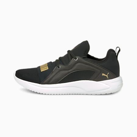 Resolve Street Women's Running Shoes, Puma Black-Puma Team Gold, small-IND