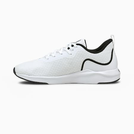Softride Finesse Women's Running Shoes, Puma White-Puma Black, small-IND