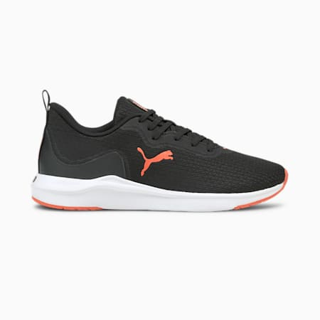 Softride Finesse Women's Running Shoes, Puma Black-Fiery Coral, small-IND