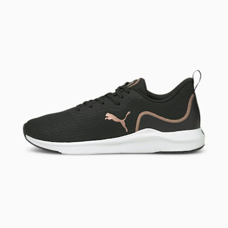 Softride Finesse Women's Running Shoes, Puma Black-Rose Gold, small-IND