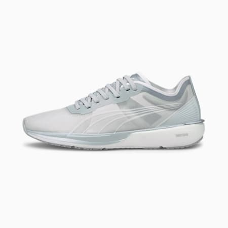 Liberate Nitro COOLadapt Women's Running Shoes, White-Gray Violet-Silver, small-IND