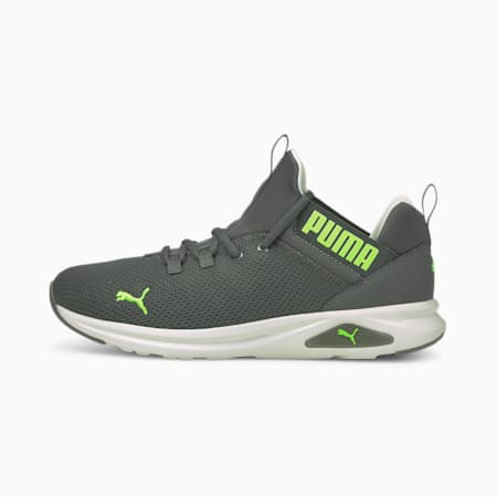Enzo 2 Uncaged Men's Running Shoes, CASTLEROCK-Green Glare, small-IND