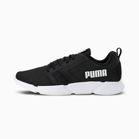Flair Unisex Shoes, Puma Black-Puma White, small-IND