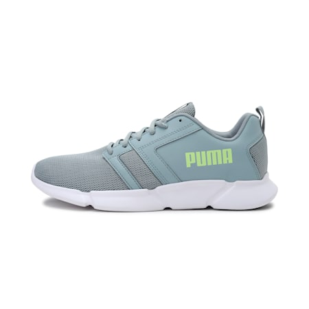 Flair Unisex Shoes, Quarry-Fizzy Yellow-Puma White, small-IND