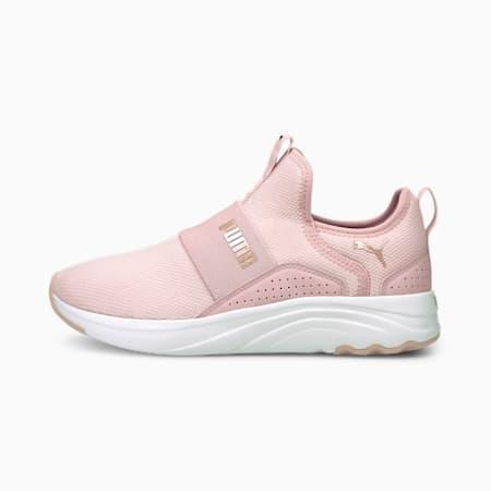 Zapatos para correr sin cordones Softride Sophiapara mujer, Lotus-Rose Gold, pequeño