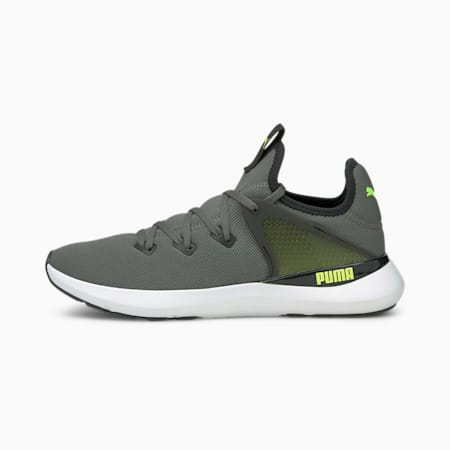 Pure XT Men's Training Shoes, CASTLEROCK-Puma Black-Green Glare, small