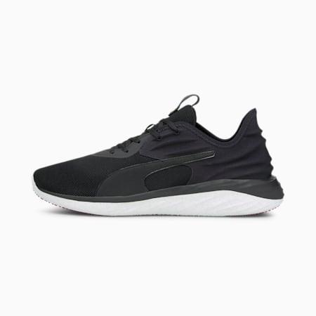 Zapatos para correr Better Foam Emerge 3D para hombre, Puma Black-Intense Red, pequeño