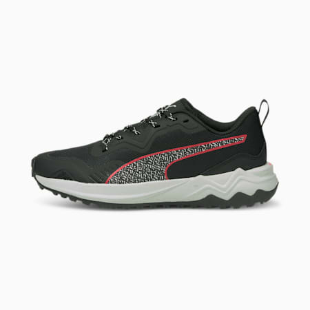 Better Foam Xterra Running Shoes, Puma Black-Sunblaze, small
