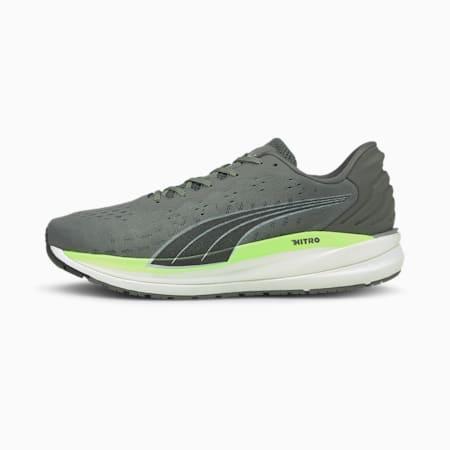 Magnify Nitro Men's Running Shoes, CASTLEROCK-Green Glare, small