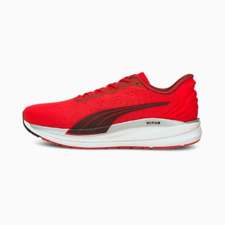 Zapatos deportivos para correr Magnify Nitro para hombre, High Risk Red-Puma Black, pequeño