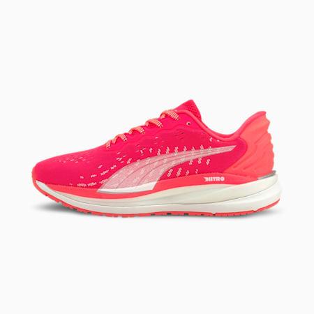 Zapatos deportivos para correr Magnify Nitro para mujer, Sunblaze-Puma White, pequeño